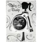 Baby Bump Metal Picture Frame