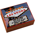 Personalized Vegas Night Humidor