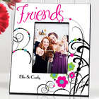 Personalized Friendship Cheerful Onyx Picture Frame