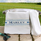 Doggie Delights Personalized Pet Towel