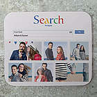 Search for True Love Personalized Mousepad