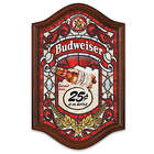 Budweiser Light Up Stained Glass Wall Decor