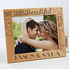 Love Quotes Personalized Romantic Wood Picture Frame