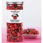 Dark Chocolate Cherry Cordial Popcorn