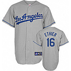 Andre Ethier #16 Los Angeles Dodgers Road Replica Jersey