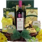 Beringer Merlot Gourmet Easter Wine Gift Basket