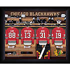 Personalized NHL Chicago Blackhawks Locker Room Print