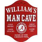 Personalized NCAA Man Cave Sign