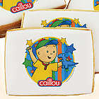 Caillou Dinosaur Cookies