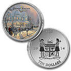 Thomas Kinkade A Holiday Gathering Legal Tender Coin