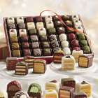 24 Petits Fours and Bonbons with Chocolate and Swiss Creme