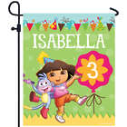 Personalized Dora the Explorer Birthday Yard Sign