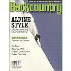Backcountry Magazine Subscription 6 Issues Seasonal