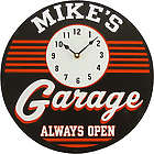Handcrafted Personalized Garage Clock