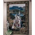 Neuschwanstein Castle Wall Tapestry