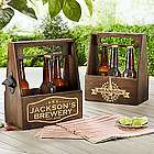 Personalized Home Brew Beer Caddy