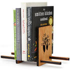 Sliding Wood Book Stand