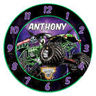 Monster Jam Grave Digger Wall Clock