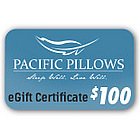 Pacific Pillows $100 Gift Certificate