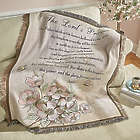 Lord's Prayer Tapestry Throw Blanket