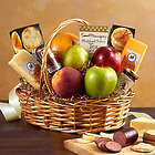 Large Fruit & Gourmet Treats Gift Basket