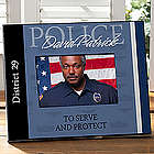 Personalized Police Officer Picture Frame