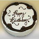 Gluten Free Black and White Birthday Cake