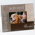 Adopted Pet Personalized Photo Frame
