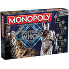 Monopoloy Doctor Who Villians Edition Licensed Game
