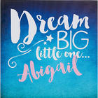 Sweet Dreams Baby Personalized Canvas Print