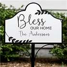 Bless Our Home Personalized Magnetic Sign