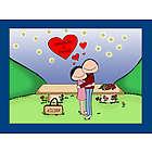 Personalized Starlight Love Couple Cartoon Print
