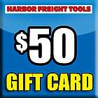 $50 Harbor Freight Gift Card