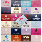 Personalized Wedding Matchbox Favors