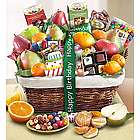 Happy Birthday Fruit and Sweets Gift Basket