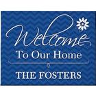 Welcome to Our Home 11x14 Custom Canvas Print