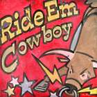 "Ride 'em Cowboy 14"" Giclee Canvas Print Wall Art"
