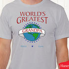 Personalized World's Greatest Design T-Shirt