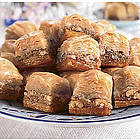 Miniature Baklava Desserts Approx. 20 Pieces 14-oz. Net Wt