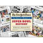 New York Times Super Bowl History Newspaper Collection
