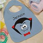 Personalized Halloween Dracula Baby Bib
