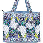 Louis Comfort Tiffany-Inspired Stained Glass Beauty Quilted Tote