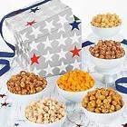 Patriotic Popcorn Snack in a Box