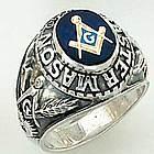 Masonic Master Mason Blue Lodge Ring