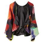 Guazzo Kimono Style Wool Jacket