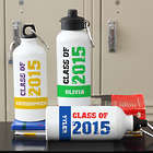 Glad to be a Grad Personalized Water Bottle