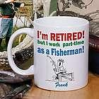 Retired Part-Time Fisherman Coffee Mug