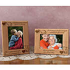 Personalized Heartstrings of a Family Wooden Picture Frame