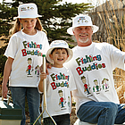 Fishing Buddies Adult T-Shirt
