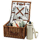 Cheshire Picnic Basket for Two with Coffee Set and Blanket